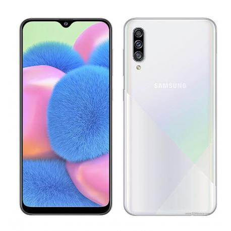 گوشی موبایل سامسونگ Galaxy A30s دو سیم کارت 128 گیگابایت سفید