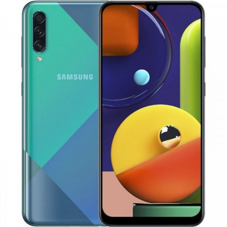 گوشی موبایل سامسونگ Galaxy A50s دو سیم کارت 128 گیگابایت سبز