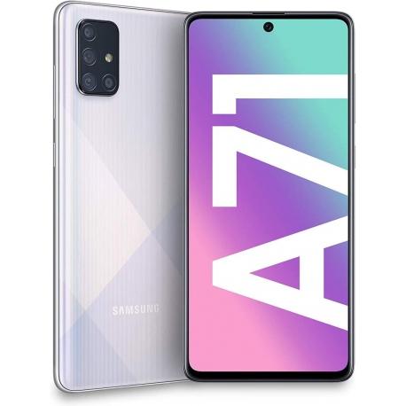 گوشی موبایل سامسونگ Galaxy A71 دو سیم کارت 128 گیگابایت نقره ای
