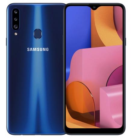 گوشی موبایل سامسونگ Galaxy A20s دو سیم کارت 32 گیگابایت آبی