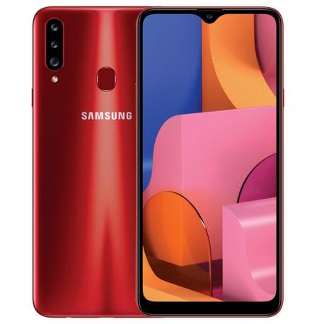 گوشی موبایل سامسونگ Galaxy A20s دو سیم کارت 32 گیگابایت قرمز
