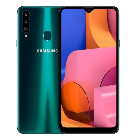 گوشی موبایل سامسونگ Galaxy A20s دو سیم کارت 32 گیگابایت سبز