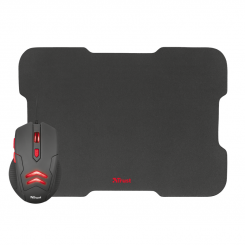 Trust Ziva Gaming Mouse with mouse pad