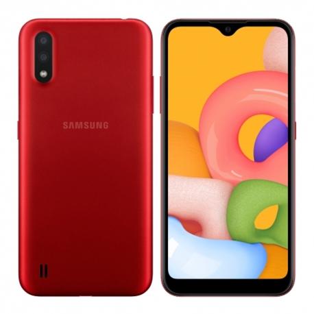 گوشی موبایل سامسونگ Galaxy A01 دو سیم کارت 16 گیگابایت قرمز