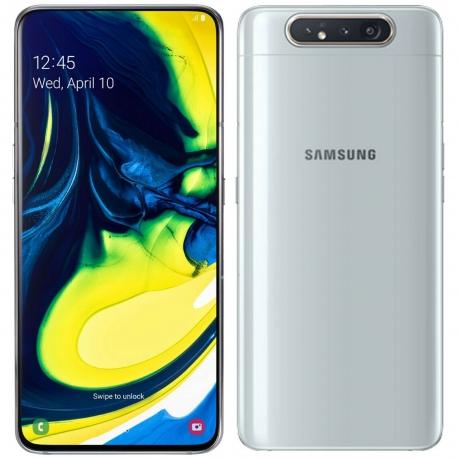 گوشی موبایل سامسونگ Galaxy A80 دو سیم کارت 128 گیگابایت سفید
