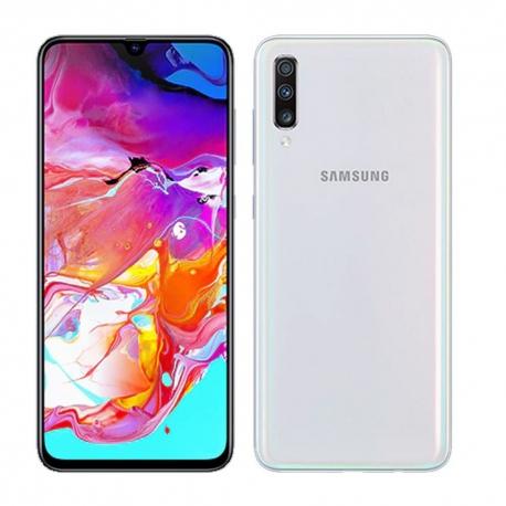 گوشی موبایل سامسونگ Galaxy A70 دو سیم کارت 128 گیگابایت سفید