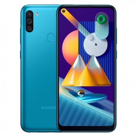 گوشی موبایل سامسونگ Galaxy M11 دو سیم کارت 32 گیگابایت آبی