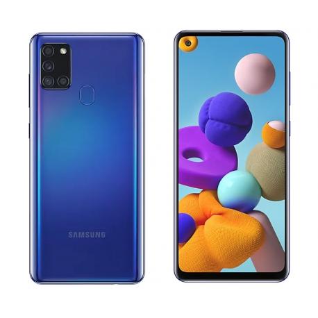 گوشی موبایل سامسونگ Galaxy A21s دو سیم کارت 64 گیگابایت آبی