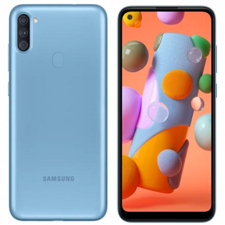 گوشی موبایل سامسونگ Galaxy A11 دو سیم کارت 32 گیگابایت آبی