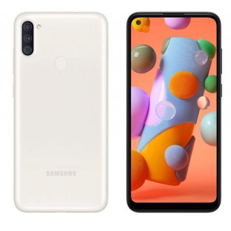 گوشی موبایل سامسونگ Galaxy A11 دو سیم کارت 32 گیگابایت سفید