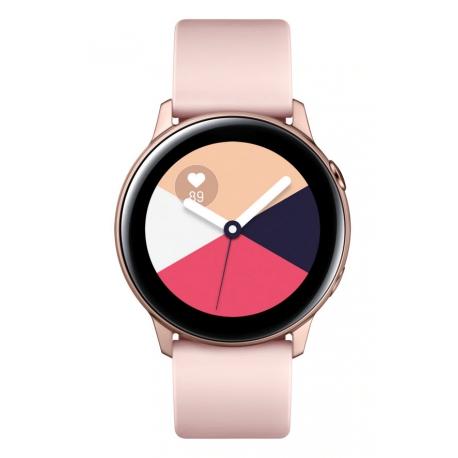 ساعت هوشمند سامسونگ Samsung R500 ACTIVE 1 رزگلد