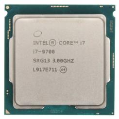 Intel Core i7 9700 LGA 1151 (300 Series) TRAY - بدون باکس / طلق و فن