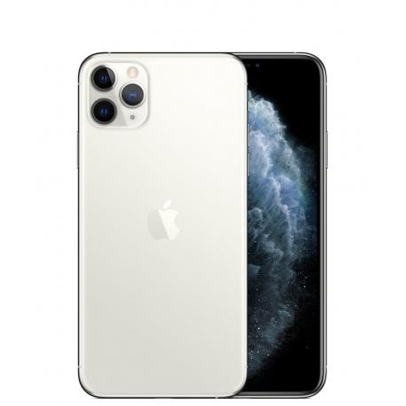 گوشی موبایل اپل iPhone 11 Pro Max دو سیم کارت 512 گیگابایت نقره ای