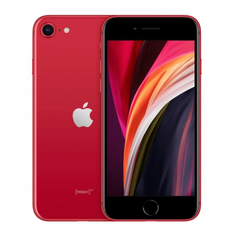 گوشی موبایل اپل iPhone SE 2020 A2275 تک سیم کارت 128 گیگابایت قرمز