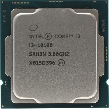 سی پی یو بدون باکس اینتل مدل Intel Core i3 10100