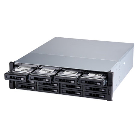 ذخیره ساز تحت شبکه کیونپ Qnap TVS-1672XU-RP-i3-8G