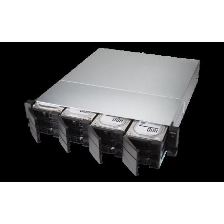 ذخیره ساز تحت شبکه کیونپ Qnap TVS-1272XU-RP-i3-4G