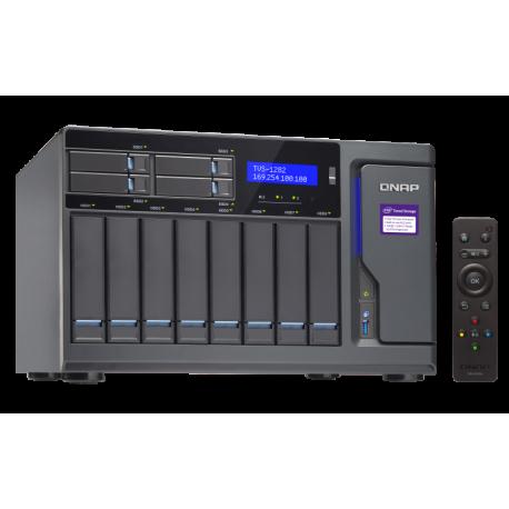 ذخیره ساز تحت شبکه کیونپ Qnap TVS-1282-i3-8G