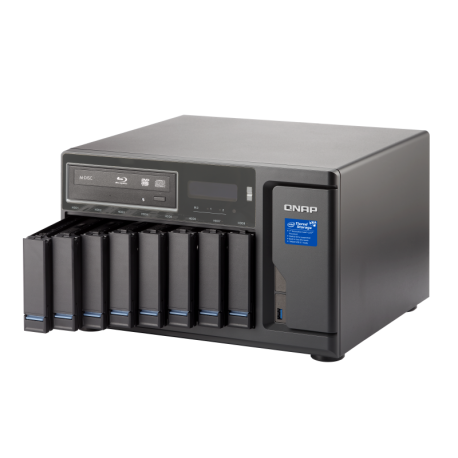 ذخیره ساز تحت شبکه کیونپ Qnap TVS-882BR-i7-32G