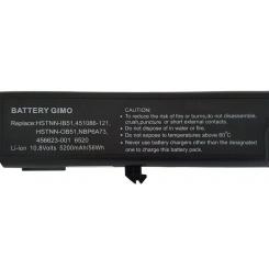 باتری لپ تاپ اچ پی Compaq 6520-6Cell