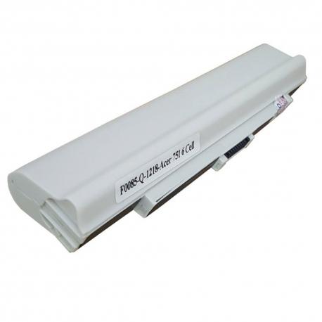 باتری لپ تاپ ایسر Aspire 751-6Cell سفید