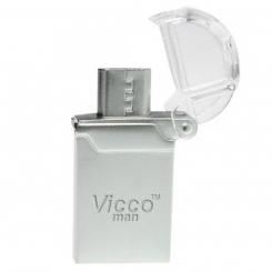 فلش مموری OTG ویکو من 16 گیگابایت Vicco VC120S OTG USB2.0