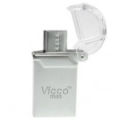 فلش مموری OTG ویکو من 16 گیگابایت Vicco VC125S OTG USB2.0