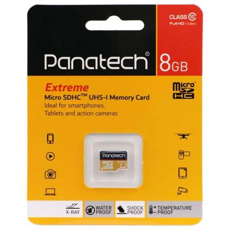 رم میکرو پاناتک 8 گیگابایت Panatech MicroSD 8GB
