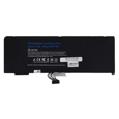 باتری لپ تاپ اپل MacBook Pro A1382-A1286_2011-2012