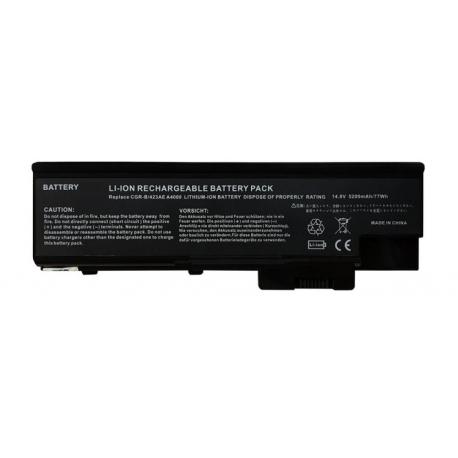 باتری لپ تاپ ایسر TravelMate 4000-3000-6Cell