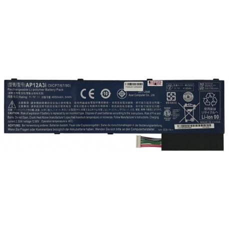 باتری لپ تاپ ایسر Aspire M3-M5_AP12A3I داخلی اورجینال