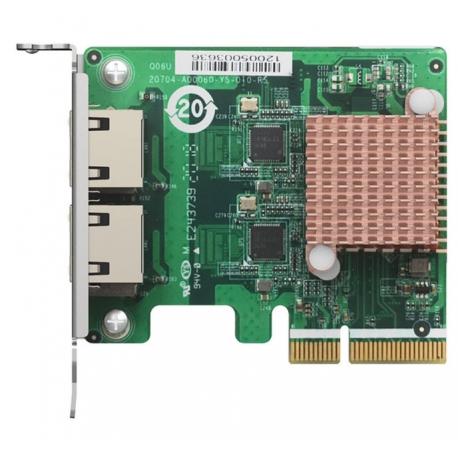 کارت شبکه کیونپ QNAP QXG-2G2T-I225 دو پورت
