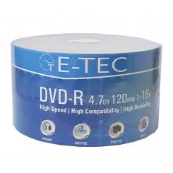 دی وی دی خام ایتک E-TEC پک شرینگ 4.7 گیگابایت