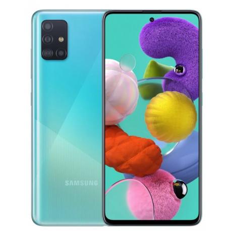 گوشی موبایل سامسونگ Galaxy A51 دو سیم کارت 128 گیگابایت آبی
