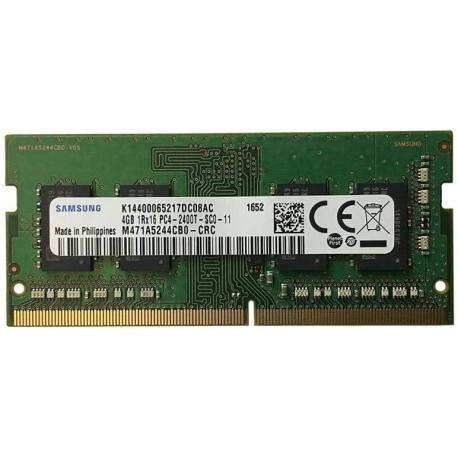 رم لپ تاپ 4 گیگ Samsung DDR4-2400 MHZ 1.2V
