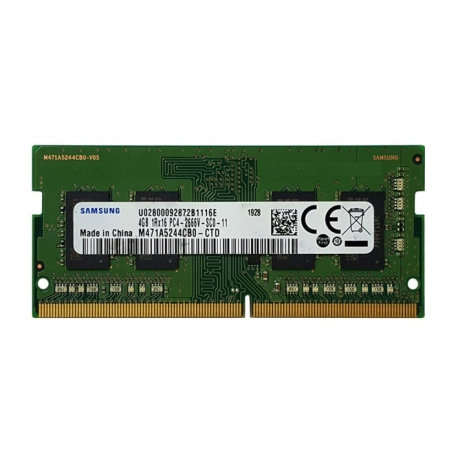 رم لپ تاپ 4 گیگ Samsung DDR4-2666 MHZ 1.2V