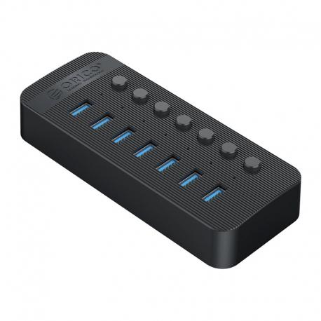 هاب 7 پورت کلیددار USB3.0 مدل ORICO CT2U3-7AB