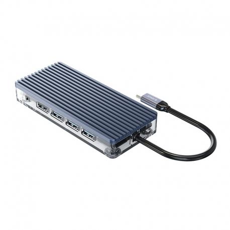 هاب 11 پورت USB-C مدل ORICO WB-11P