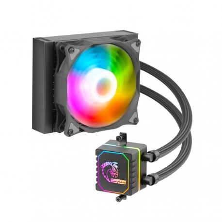 خنک کننده مایع پردازنده گرین GREEN GLACIER 120 ARGB