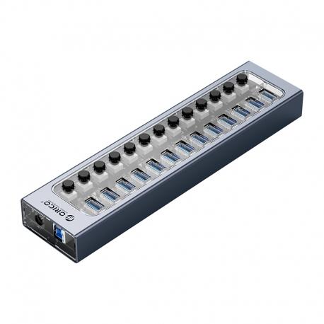 هاب 13 پورت USB3.0 اوریکو با کلید ORICO AT2U3-13AB