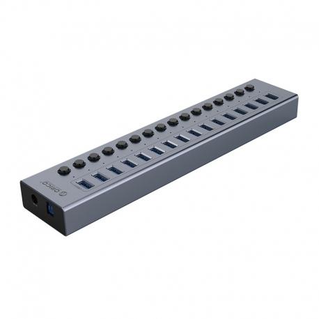هاب USB3.0 اوریکو فلزی 16 پورت ORICO BT2U3-16AB