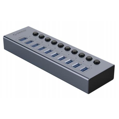هاب USB3.0 اوریکو فلزی 10 پورت ORICO BT2U3-10AB