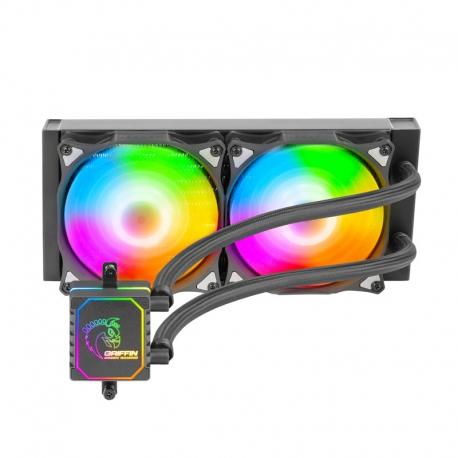 خنک کننده مایع پردازنده گرین GREEN GLACIER 240 ARGB