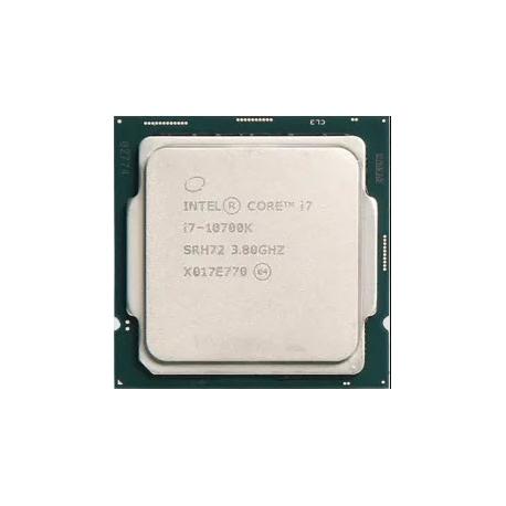 سی پی یو بدون باکس اینتل مدل Intel Core i7-10700K