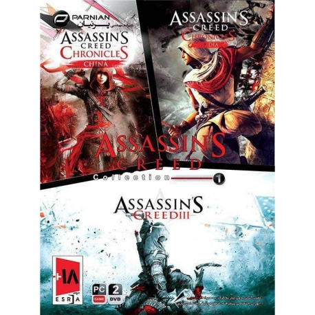 بازی Assasins Creed Collection نشر پرنیان