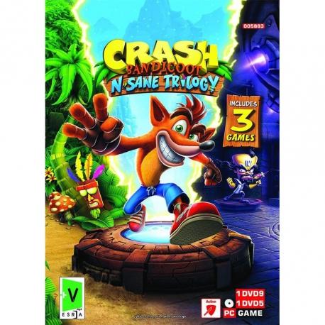 بازی CRASH BANDICOOT مخصوص کامپیوتر نشررسام