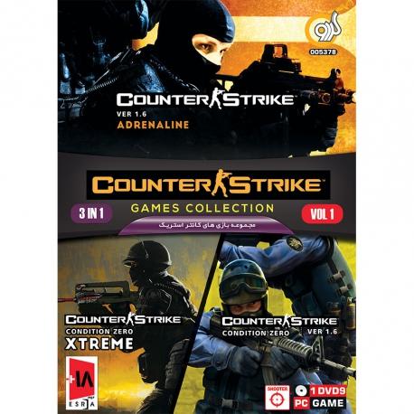 بازی counter strike collection مخصوص کامپیوتر نشر گردو