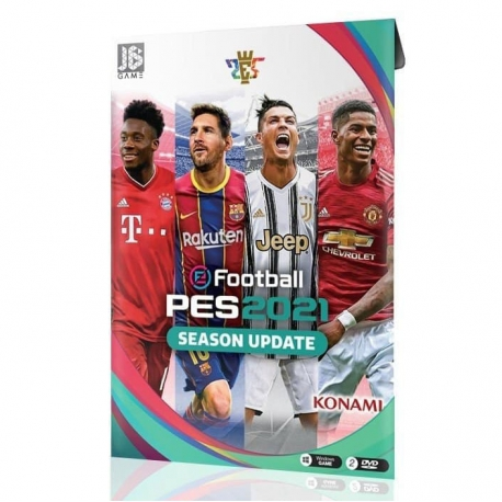بازی PES2021 مخصوص کامپیوتر نشر جی بی