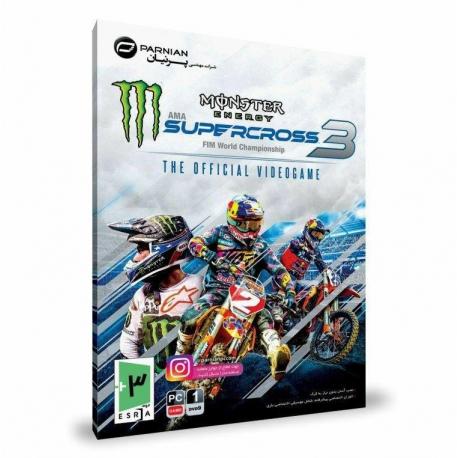 بازی SUPERCROSS 3 مخصوص کامپیوتر نشر پرنیان