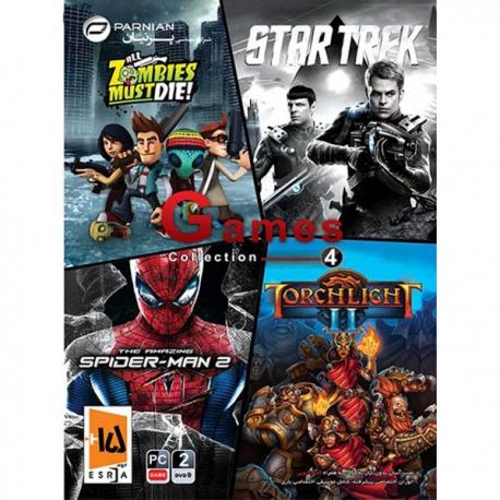 بازی Games Collection 4 پرنیان مخصوص pc